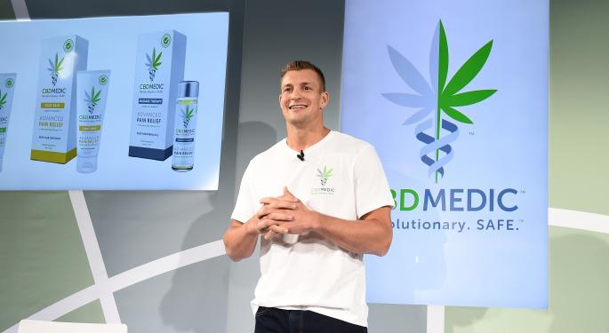Rob Gronkowski Talks CBD Partnership With Abacus Health: 'For The First Time In More Than A Decade, I'm Pain-Free'