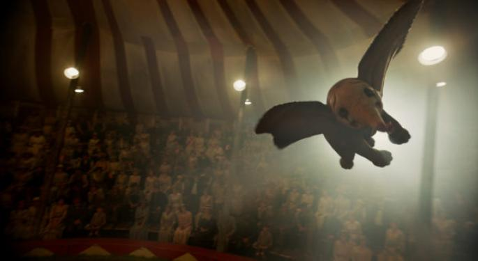 Disney's 'Dumbo' Flies Off With Weekend Box Office, But Not Quite As High As Expected