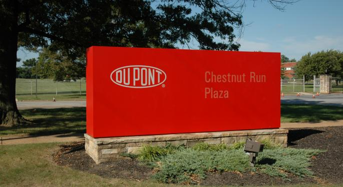 A Look Ahead At DowDuPont's Catalysts Over The Next Year; Analyst Initiates At Buy