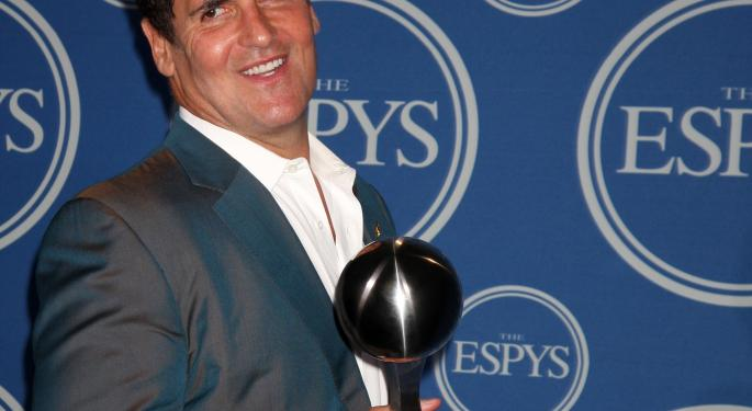 These Comments Won't Get Mark Cuban Invited to Any Wall Street Parties
