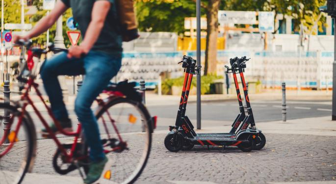 e-Scooter Sharing Startup Raises Another $85M