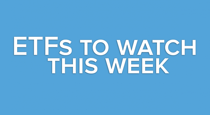 A Look Ahead: This Week's ETF's to Watch