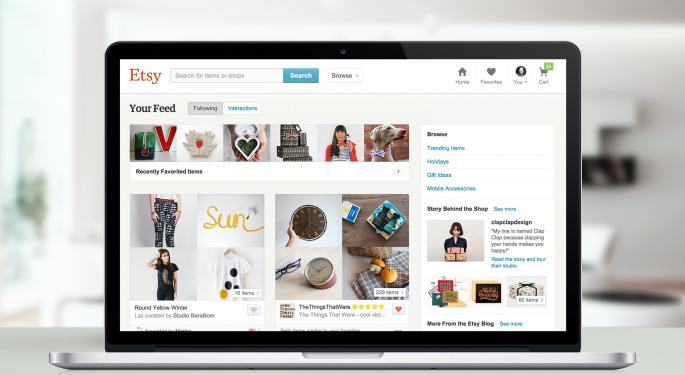 Sell-Side Analysts React To Etsy's Q3 Beat