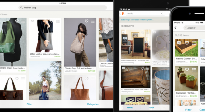 Etsy Reports Big Q4 Earnings Beat, Active Buyers Grow 18%