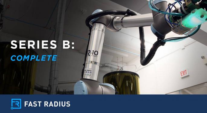 Fast Radius Raises $48 Million To Scale Up Its Additive Manufacturing Capacity