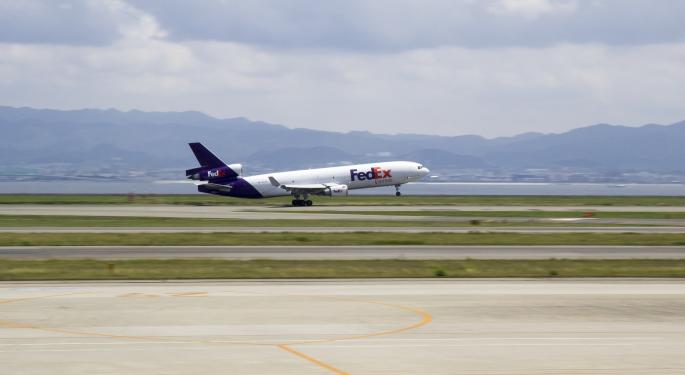FedEx's 'Messy' Start To Fiscal 2019 Pressures The Stock, Morgan Stanley Says After Q1 Print