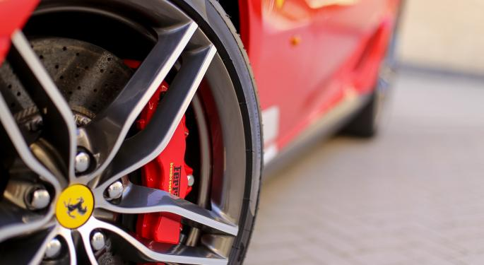 Societe Generale Upshifts On Ferrari, Says Financial Revisions Are Favorable