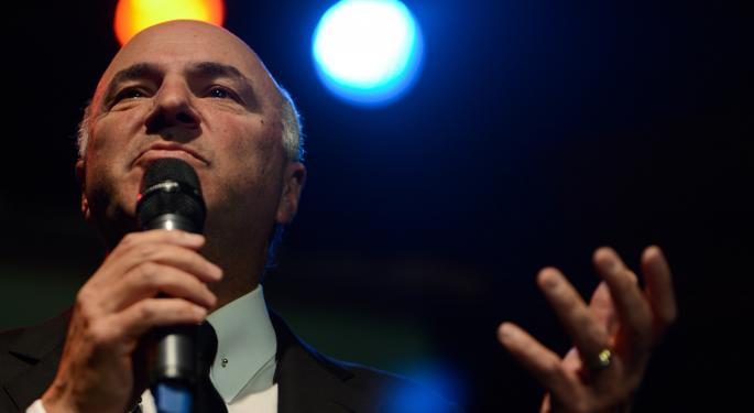 Kevin O'Leary Talks Plated's $300 Million Acquisition And How He Wants To Beat Fintech At Its Own Game