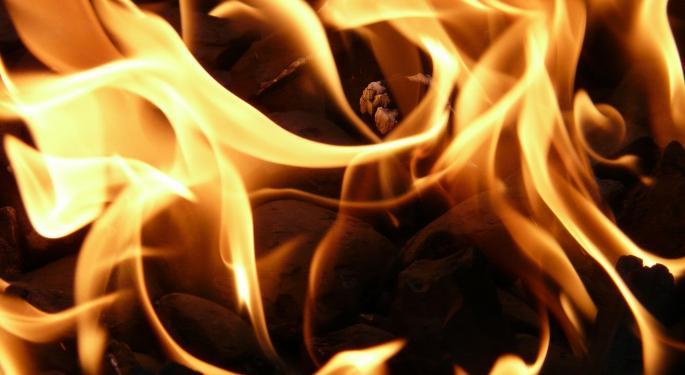 Chemical Tanker Explosion Sends Fireball Roaring Into Sky
