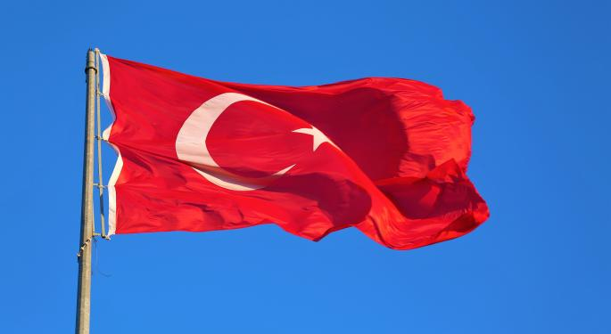 Turkey Tumult Again Brings Trouble For This ETF