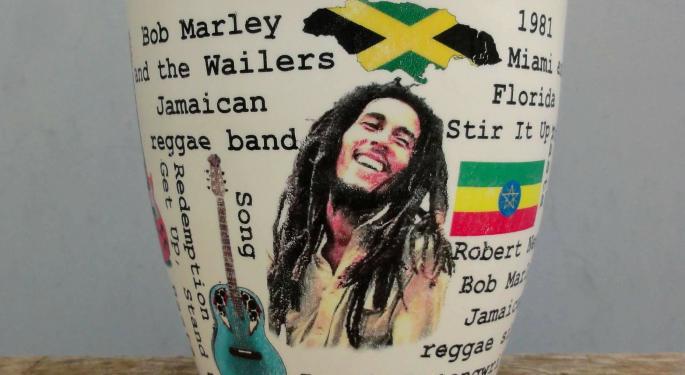 New Age Beverages To Develop, Distribute Bob Marley-Branded CBD-Infused Beverages