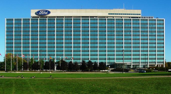 Ford Shares Drop On Moody's Downgrade; Rating Agency Sees 'Considerable' Challenges