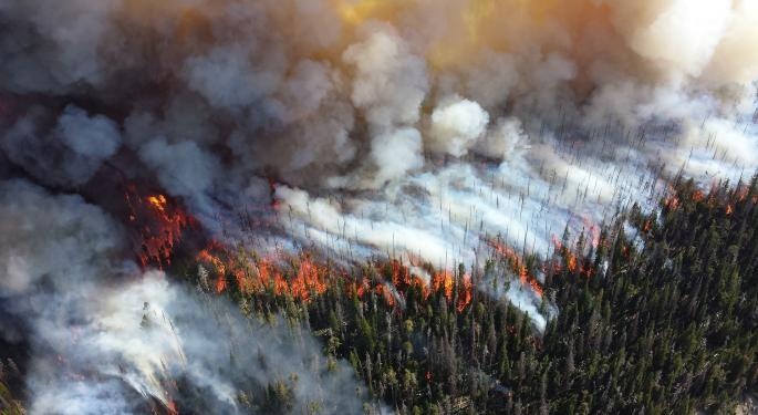 Wildfire Risk Blazing Across Western U.S.