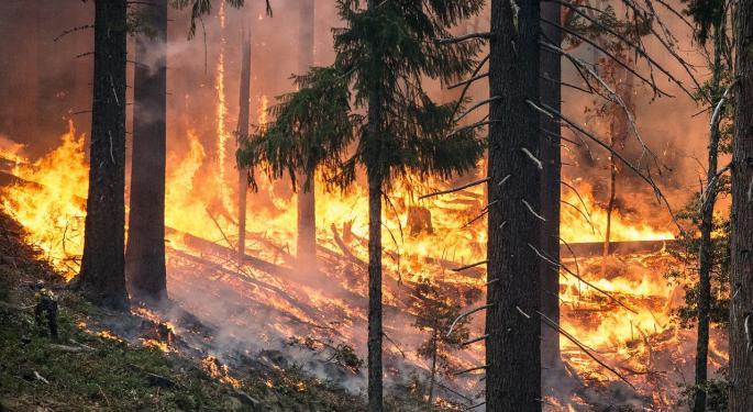 PG&E Trades Higher On $13.5B Wildfires Settlement