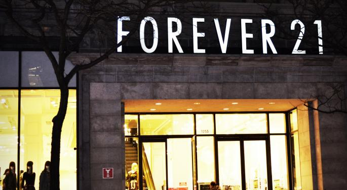 Forever 21 Canada's Bankruptcy Filings Reveal Transport Partners