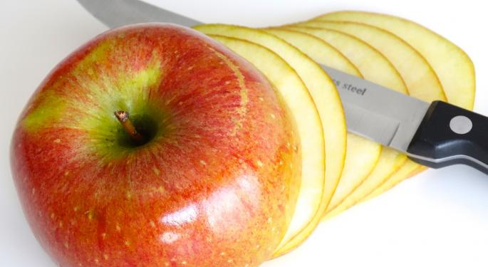 Paul La Monica: 'No Matter How You Slice It,' Apple's Stock Is 'Dirt Cheap'