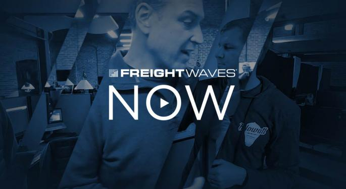 FreightWaves NOW: Spot Rate Prices Are Comparable To Contracted Rates For Carriers