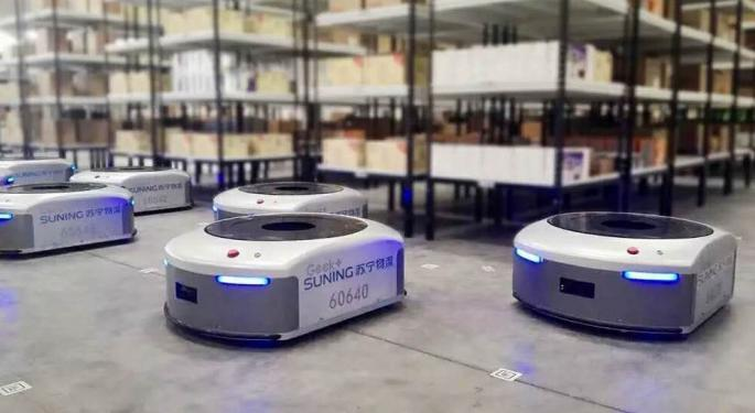Chinese Startup Geek+ Raises $150M In Funding For AI-Enabled Logistics Robots