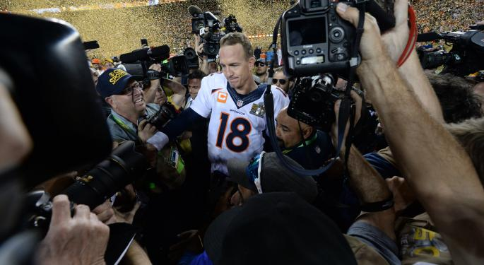 Why Did Peyton Manning Promote Budweiser After The Super Bowl? He Owns A Stake In Two Louisiana Distributors