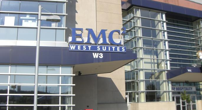 Why Isn't EMC Stock Higher...And Why Is VMware Radio Silent?