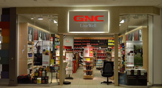 GNC Shorts Get Squeezed