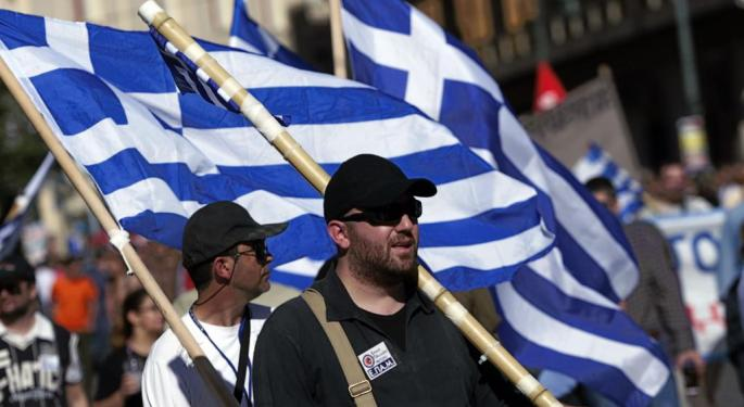 Stocks In Athens Plunge, But Greece ETF Shrugs It Off