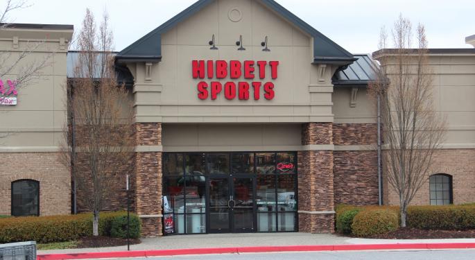 Hibbett Sports Shares Up 50%, Buckingham Analyst Says It Won't Last