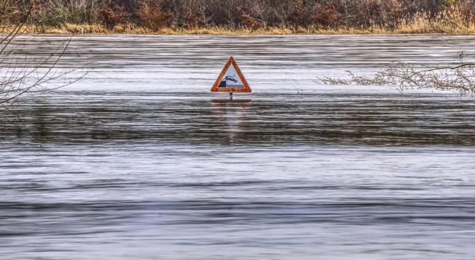 Flood Risk Ongoing In Plains States Today