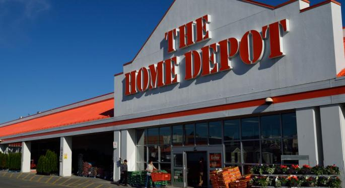 Home Depot Core Strength Goes On Despite Cheaper Lumber, Bad Weather And China