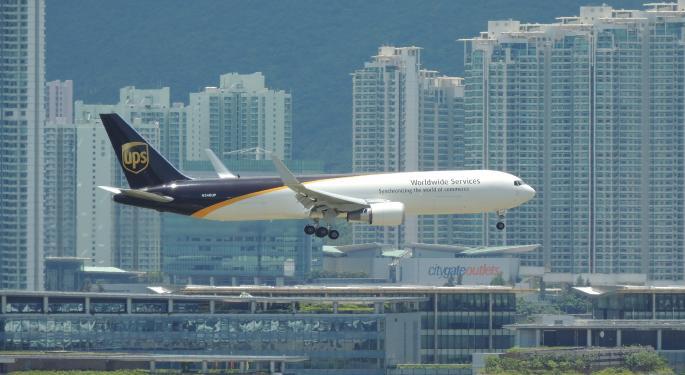 UPS Expands International Air Express Network