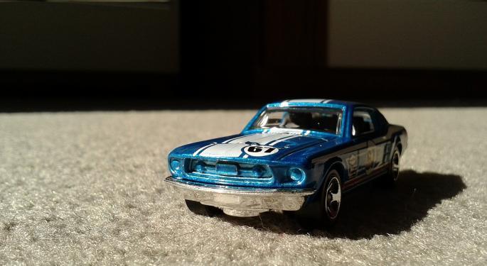 Mattel Shares Racing Higher After Big Earnings Beat