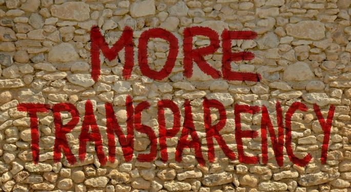 Bernanke Questions China's Transparency