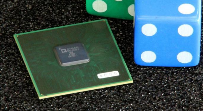 Analog Devices Option Trader Bets $500,000 On Earnings Miss