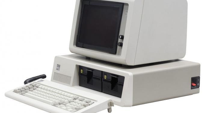 This Day In Market History: IBM Launches First PC