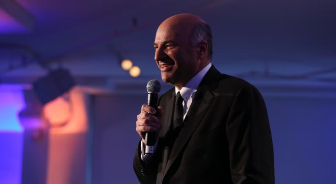 Kevin O'Leary Wants To Teach Millennials How To Invest With Fintech, Even If He Loses Money Doing It