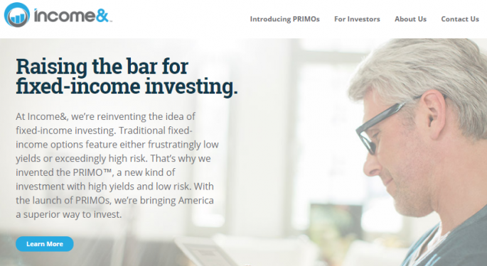 Income&: Fintech Raising The Bar For Fixed-Income Investing