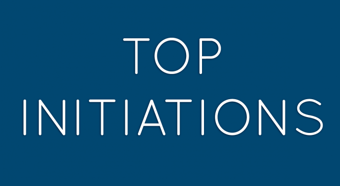 Benzinga's Top Initiations