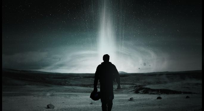 Paramount's 'Interstellar' Tops Global Weekend Box Office With $132.10M