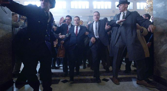 'The Irishman' Has Star-Studded Cast, But Netflix Is Forgoing Wide Cinematic Release