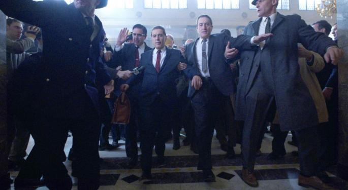 With Nearly 30M Views In A Week, Here's How 'The Irishman' Whacks Scorsese's Other Crime Epics