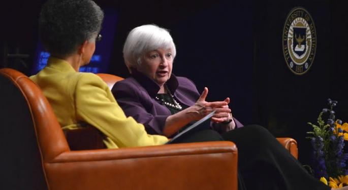Janet Yellen Argues For Fed Independence, Continued Interest Rate Hikes In University Of Michigan Appearance