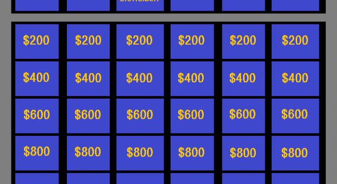 Sports Bettor Sets 'Jeopardy!' Winnings Records