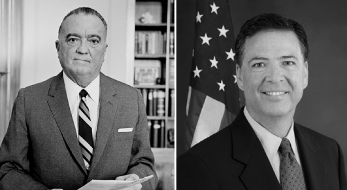 From J-Edgar To J-Com: The Wild World Of FBI Directors And Their Presidents