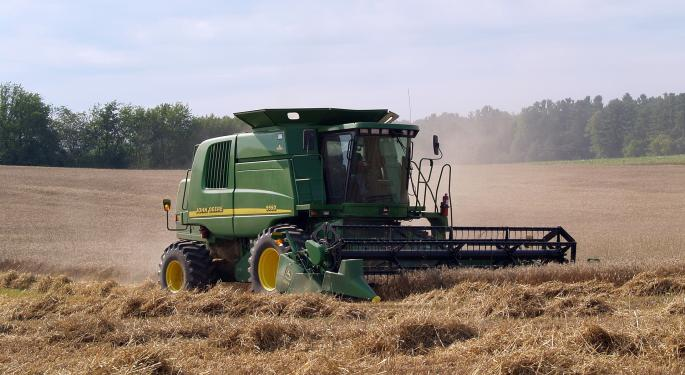 Wells Fargo Downgrades Deere And Caterpillar, Sees 'Likely Need To Cut Production Soon'