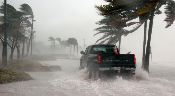 The Hurricane Matthew Disaster Play Selloff