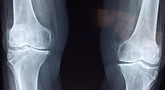 Sorrento's Knee Pain Medication Found Safe, Effective Based On Early Data