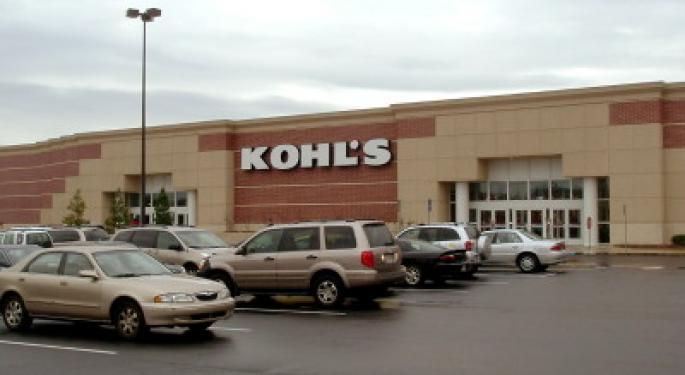 Kohl's Gets Mid-Day Downgrade, Analyst Cites 'Structural Challenges'