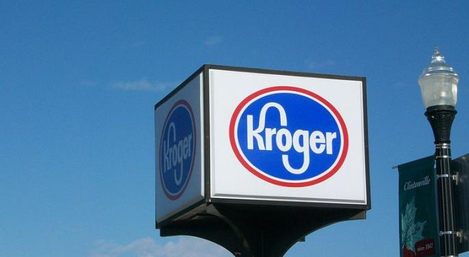 For Kroger, Food Deflation Headwinds Subside As Wal-Mart Competition Picks Up