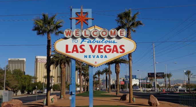 Vegas Gaming Win Slumps In October