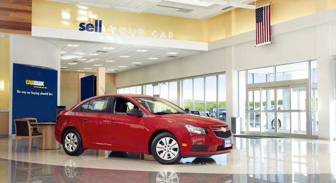 Oppenheimer Upgrades CarMax, Says Used Car Sales, Tax Savings Support Bullish Move